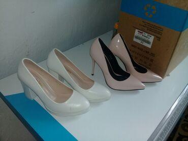 Женская обувь в Бакай-Ата: АКЦИЯ ак туфли 1500сом  калгандары 500сомдон Бишкек шаары