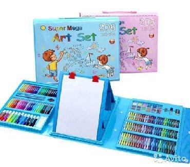 таблетки для набора массы в Кыргызстан: Набор художника для деток любящих рисовать. лучший подарок. 208