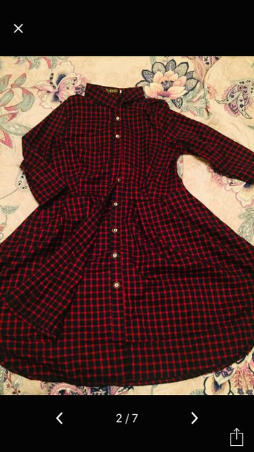 Продаю рубашку-тунику, ткань теплая, в Бишкек