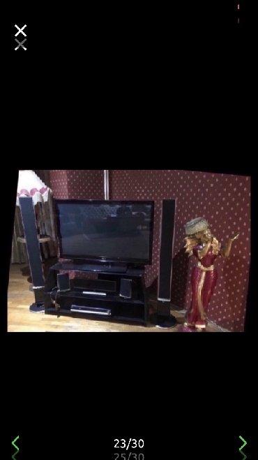Lg televizoru 130 ekran,iki boyuk kolonkasi var,3 kicik kolonkasi