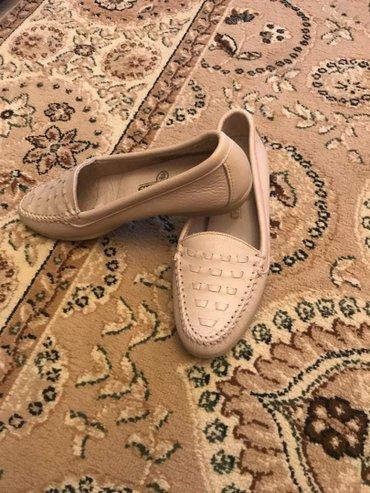 Продаю кожанные туфли, заказала из в Бишкек