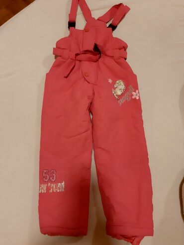Pantalone lantis - Srbija: Dečije pantalone za sneg, veličina 6, dobro stanje