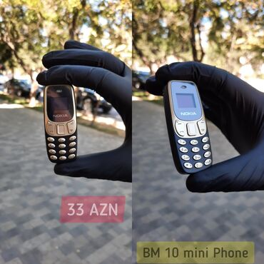 avto elektrik - Azərbaycan: ️ Nokia BM10 Ultra mini ️ Dünyanın ən kiçik ölçülü Telefonu ️ 2 simCar