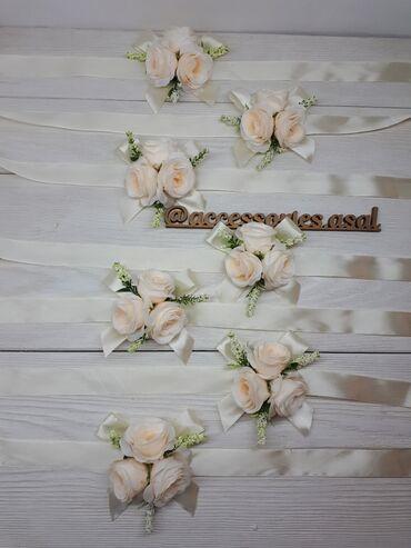 ленточки для подружек невесты в Кыргызстан: Браслеты для подружек невесты Ленточки для подружек невесты Цвет ленты
