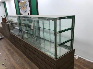 Витринные холодильники кондитерские, для кофейни в Бишкек
