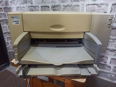 толь цена в бишкеке в Кыргызстан: Принтер струйный в рабочем состоянии HP Deskjet 840C с диском и