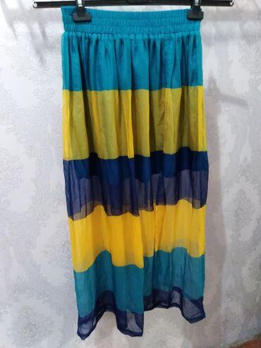 Тоненькая юбка с подкладом размер 44-46