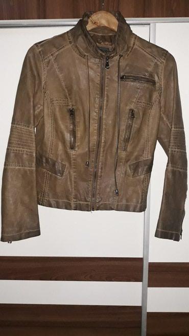 Od skaja - Srbija: Braon jakna od skaja, kao nova, broj M