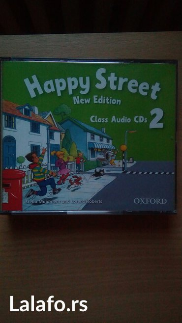 Happy street 2, oxford, nov originalni audio cd engleskog jezika za os - Beograd
