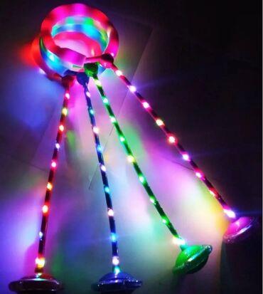 Детский мир - Кара-Балта: Нейроскакалка светящиеся в наличии в четырёх цветах