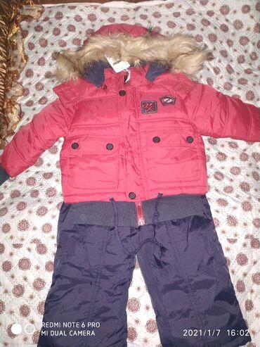 джинсовый костюм детский в Кыргызстан: Продаю зимний костюм Уни. От 1,5 года до 3 лет. Обращайтесь вотсапп