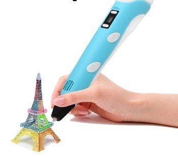 Новинка. 3D Ручка - Инновационный инструмент для рисования в воздухе