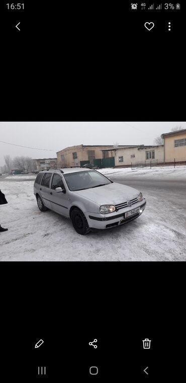 Продажа бензовоз - Кыргызстан: Volkswagen Golf 2 л. 2000