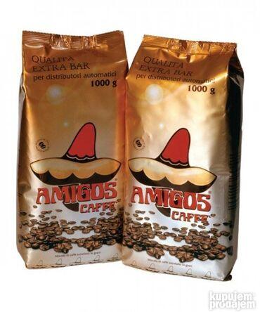 Amiga - Srbija: AMIGOSQualita Extra Barespresso kafa u zrnu 1kg. Kafa vrhunskog kv
