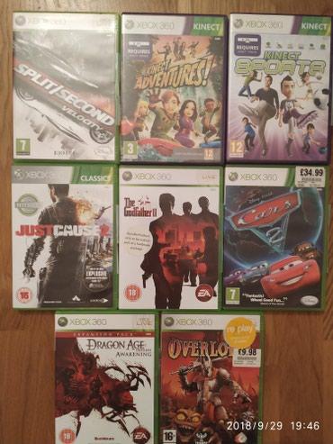 Bakı şəhərində Xbox 360 oyun diskleri.bir ededinin qiymetidi.diskler tam orijinaldi