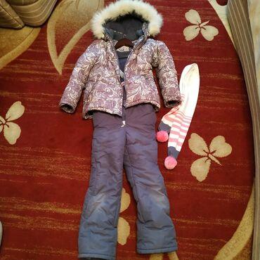 Детский мир - Байтик: Продаётся детский, зимний комбинезон.На девочку 7-8 лет, 128 см. Б/У