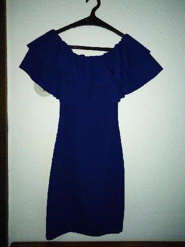Po-stvari-dvaput - Srbija: Kraljevsko plava haljina, idealna za mnoge prilike, nosena dvaput