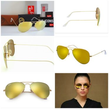 RAY BAN 3025 AVIATOR LARGE METAL 112/93 58[]14 3N Made in - Nis