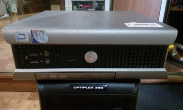 Bakı şəhərində DELL MINI PC COX KOMPAC STOLUSTU KOMPYUTERDI HDD500 RAM 4GB QIYMET