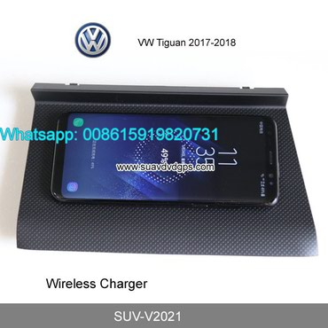 VW Tiguan Car QI wireless charger quick charge fast wireless charging in Kathmandu