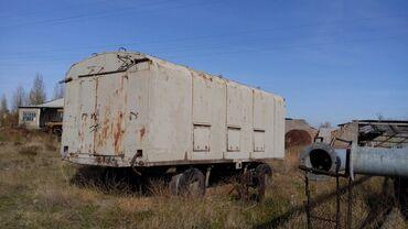прицепы в Кыргызстан: Мобильный военный вагончик