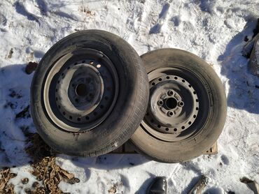 Продаю железные диски 2шт от тойотыразмер 13 шиналар жарабайт (шины не