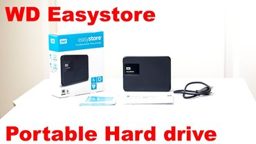 "usb hard disk - Azərbaycan: Sərt disk ""WD Easystore"", 4TBHard Disk ( HDD ) WD Easystore"