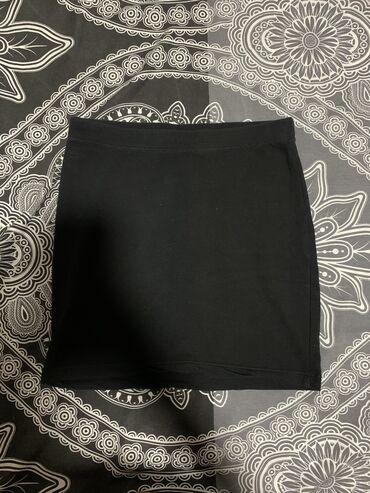 Crna pamucna suknja, jednom nosena-kao nova