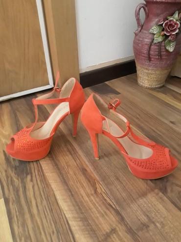 Crvene sandale Štikla 12 cm - Beograd - slika 3
