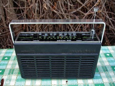 Stari i kvalitetni radio tranzistor poznatog nemačkog proizvođača - Novi Sad