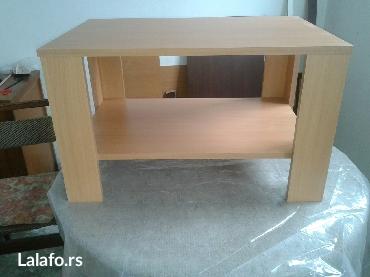 -klub sto se izradjuje od univera 18 mm u bukva dezenu-dimenzije su 7 - Sopot