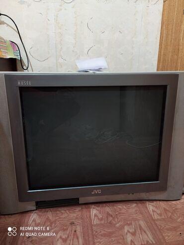 большой телевизор panasonic в Кыргызстан: Продаю телевизор JVC большой отлично работает