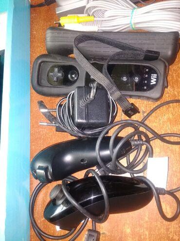 Nintendo Wii в Кыргызстан: Игровая приставка Wii Nintendo. Полный комплект,только без игр.Игры