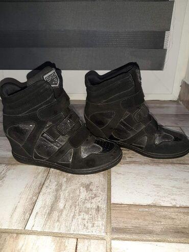 Ženska obuća | Backa Palanka: Skecers patike nosene malo i poklon jos jedne cizme Rangove krzno
