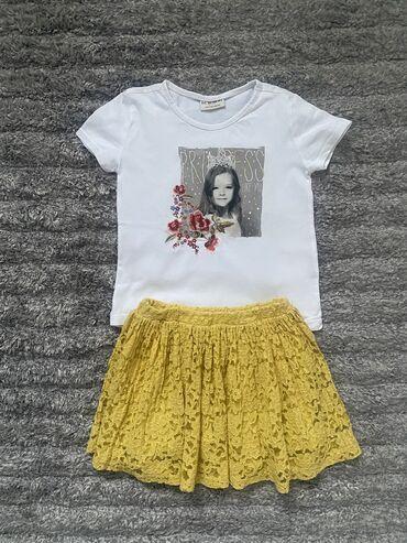 Zara suknja i majica, vel 5