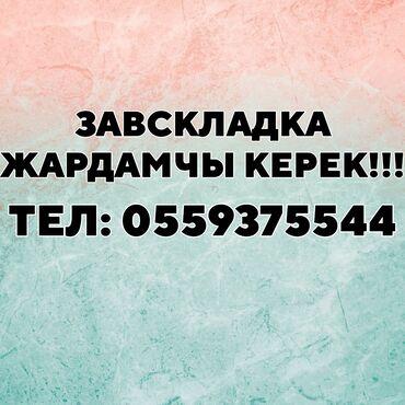 Медицина, фармацевтика - Бишкек: ЗАВ.СКЛАДКА ЖАРДАМЧЫ КЕРЕК!!! ОПЛАТА: 20,000 ГРАФИК: 10:00-17:00