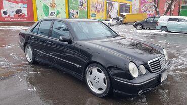 Mercedes-Benz E-класс AMG 5.5 л. 2001 | 123000 км