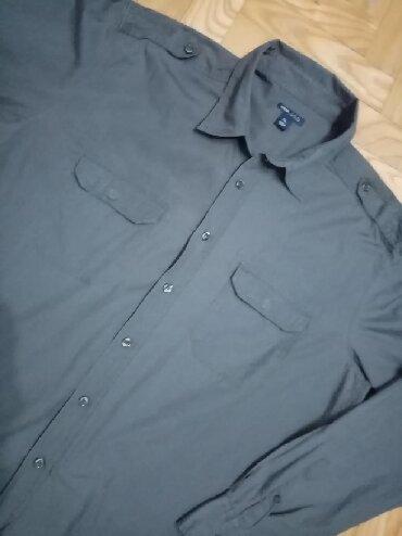 Sako-hm - Srbija: HM Muška košulja u prelepoj maslinasto zelenoj boji odličnog kroja, ne