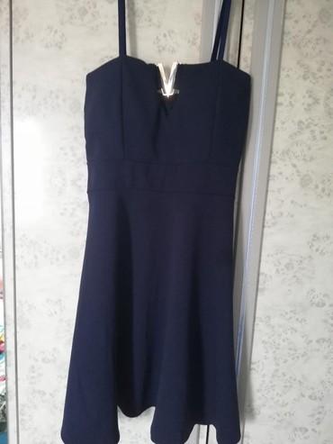 Haljina-xxlramena-pol-obim-grudi-duzina-puna-elastina - Srbija: Teget korset haljina sa krpicama. Univerzalna veličina, puna elastina