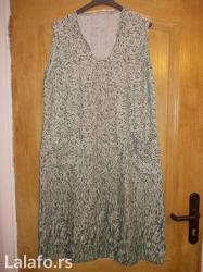 Vrlo , lepa, lagana i prijatna haljina mislim da je vel XL - Prokuplje