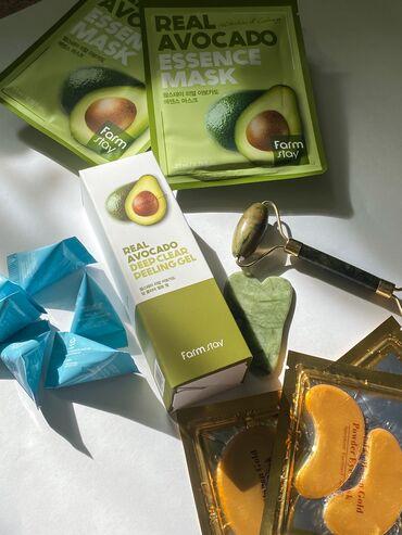 628 объявлений: Beaty Box Avocado Бьюти Бокс АвокадоМаска real avocado 2 штПилинг
