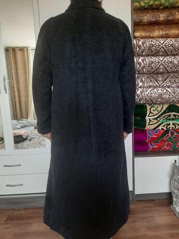 женская пальто в Кыргызстан: Пальто в отличном состоянии размер 50-52 после химчистки