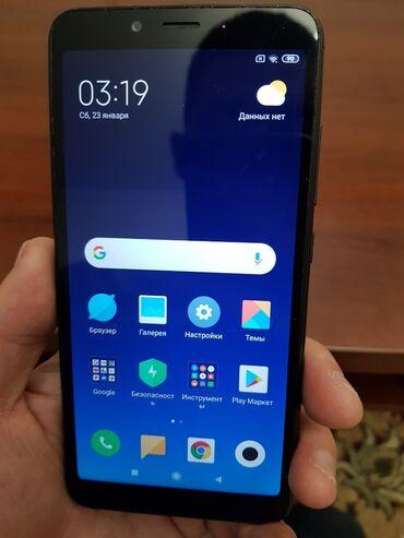 сенсорная плита бош в Кыргызстан: Б/у Xiaomi Redmi 6A 16 ГБ Черный