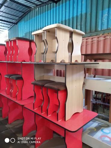 стол на кухню раскладной в Кыргызстан: Стол-табуретки принимаем заказы шкафы кухни стол-табуретки прихожки ко