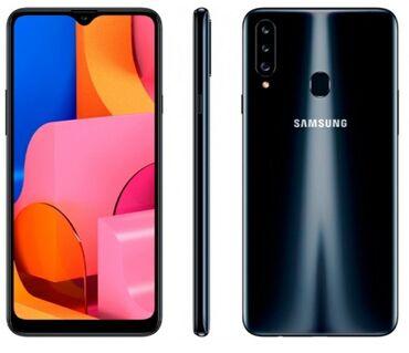 İşlənmiş Samsung A20s 64 GB qara