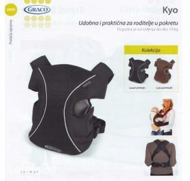 Kengur nosiljka za bebe od 0-10kg - Beograd - slika 2