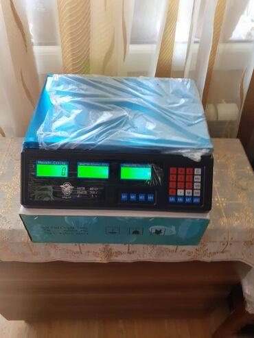 Elektron terezi 40kg cekir,teze,karopkanin icinde.Qiymet