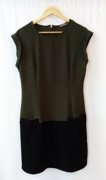 зеленые шузы в Кыргызстан: Зеленое стильное платье с карманами, размер 46, надевала пару раз