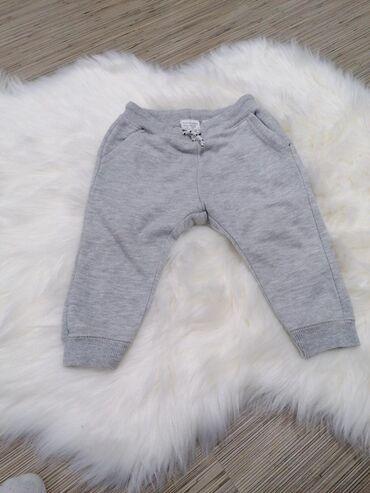 Orginal zara pantalone super - Srbija: Zara donji deo trenerke za bebe. U odlicnom stanju Vel.86, 12 meseci