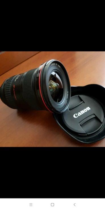 Qusar şəhərində Canon f2.8 16-35 L ll az işlenib.Bu qiymete hec yerde tapmaq